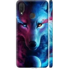 Чехол на Huawei Nova 3i Арт-волк (3999c-1541)