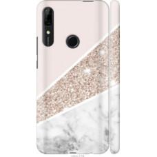 Чехол на Huawei P Smart Z Пастельный мрамор (4342c-1704)