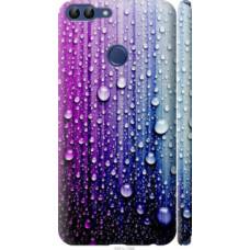 Чехол на Huawei P Smart Капли воды (3351c-1346)