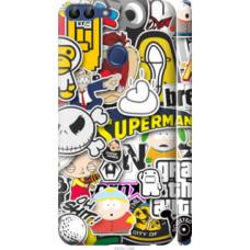 Чехол на Huawei P Smart Popular logos (4023c-1346)