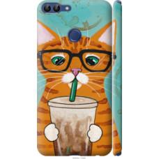 Чехол на Huawei P Smart Зеленоглазый кот в очках (4054c-1346)