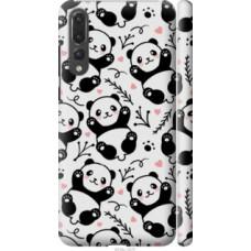 Чехол на Huawei P20 Pro Панды (4318c-1470)