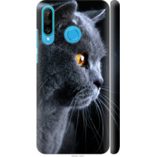 Чехол на Huawei P30 Lite Красивый кот (3038c-1651)