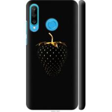 Чехол на Huawei P30 Lite Черная клубника (3585c-1651)