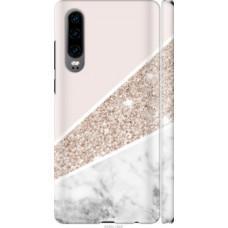 Чехол на Huawei P30 Пастельный мрамор (4342c-1622)