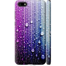Чехол на Huawei Y5 2018 Капли воды (3351c-1500)
