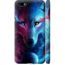 Чехол на Huawei Y5 2018 Арт-волк (3999c-1500)