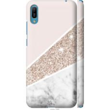 Чехол на Huawei Y6 2019 Пастельный мрамор (4342c-1666)