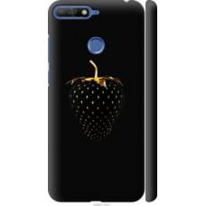 Чехол на Huawei Honor 7C Черная клубника (3585c-1411)