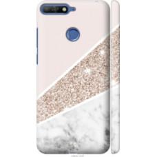 Чехол на Huawei Honor 7C Пастельный мрамор (4342c-1411)