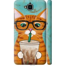 Чехол на Huawei Enjoy 5 Зеленоглазый кот в очках (4054c-475)