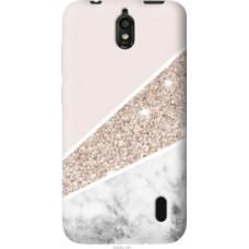 Чехол на Huawei Ascend Y625 Пастельный мрамор (4342u-161)