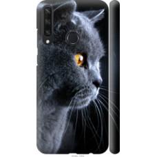 Чехол на Huawei Y6p Красивый кот (3038c-1952)