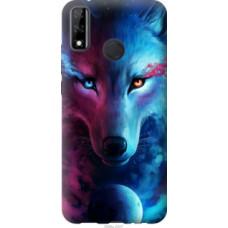 Чехол на Huawei Y8s Арт-волк (3999u-2027)