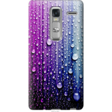 Чехол на LG Zero Капли воды (3351u-476)