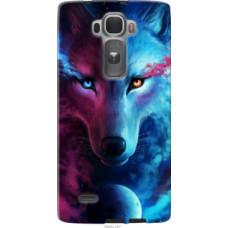 Чехол на LG G Flex2 Арт-волк (3999u-287)