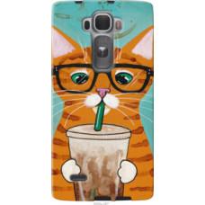 Чехол на LG G Flex2 Зеленоглазый кот в очках (4054u-287)