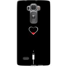 Чехол на LG G Flex2 Подзарядка сердца (4274u-287)