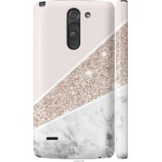 Чехол на LG G3 Stylus D690 Пастельный мрамор (4342c-89)