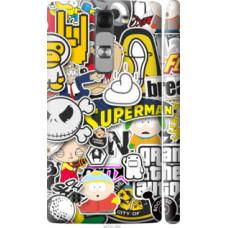 Чехол на LG G4c H522y Popular logos (4023c-389)