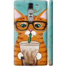 Чехол на LG G4c H522y Зеленоглазый кот в очках (4054c-389)