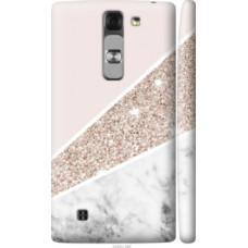 Чехол на LG G4c H522y Пастельный мрамор (4342c-389)