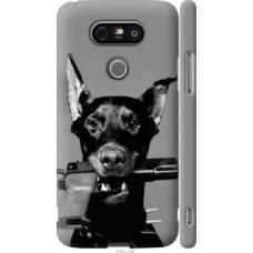 Чехол на LG G5 H860 Доберман (2745c-348)