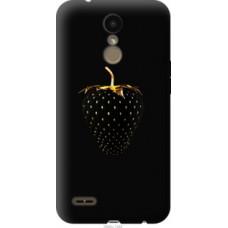 Чехол на LG K10 2018 Черная клубника (3585u-1382)