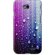 Чехол на LG L70 Dual D325 Капли воды (3351u-201)