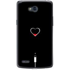 Чехол на LG L80 Dual D380 Подзарядка сердца (4274u-332)