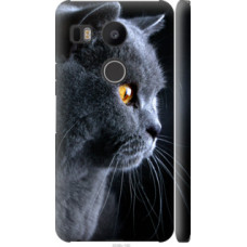 Чехол на LG Nexus 5X H791 Красивый кот (3038c-150)