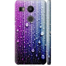 Чехол на LG Nexus 5X H791 Капли воды (3351c-150)