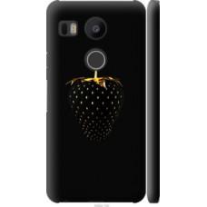 Чехол на LG Nexus 5X H791 Черная клубника (3585c-150)