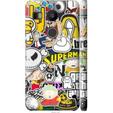 Чехол на LG Nexus 5X H791 Popular logos (4023c-150)
