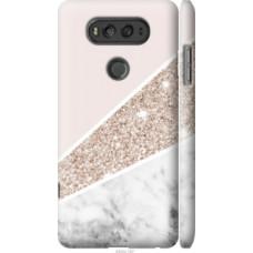 Чехол на LG V20 Пастельный мрамор (4342c-787)