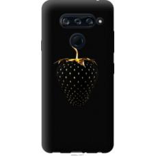 Чехол на LG V40 ThinQ Черная клубника (3585u-1577)