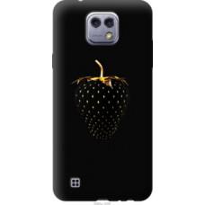 Чехол на LG X Cam K580 Черная клубника (3585u-1028)