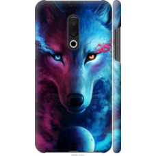 Чехол на Meizu 15 Plus Арт-волк (3999c-1473)
