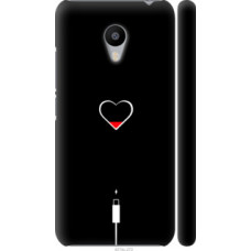Чехол на Meizu M3 Подзарядка сердца (4274c-272)