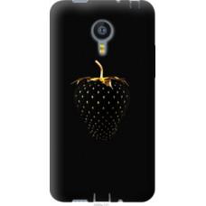 Чехол на Meizu MX4 Черная клубника (3585u-131)