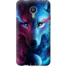 Чехол на Meizu MX4 Арт-волк (3999u-131)