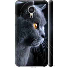 Чехол на Meizu MX5 Красивый кот (3038c-105)