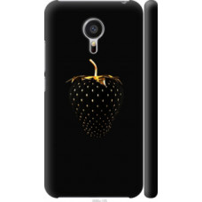 Чехол на Meizu MX5 Черная клубника (3585c-105)