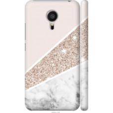 Чехол на Meizu MX5 Пастельный мрамор (4342c-105)
