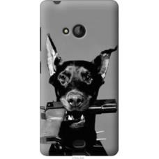 Чехол на Microsoft Lumia 540 Dual SIM Доберман (2745u-246)