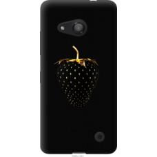 Чехол на Microsoft Lumia 550 Черная клубника (3585u-343)