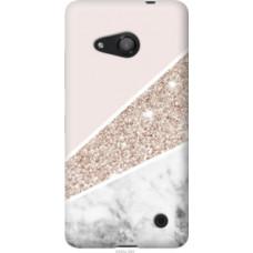 Чехол на Microsoft Lumia 550 Пастельный мрамор (4342u-343)