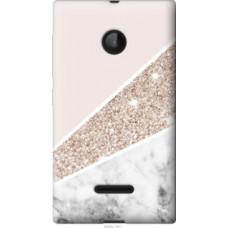 Чехол на Microsoft Lumia 532 Dual Sim Пастельный мрамор (4342u-151)