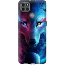 Чехол на Motorola G9 Power Арт-волк (3999u-2229)