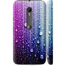 Чехол на Motorola Moto G3 Капли воды (3351c-318)